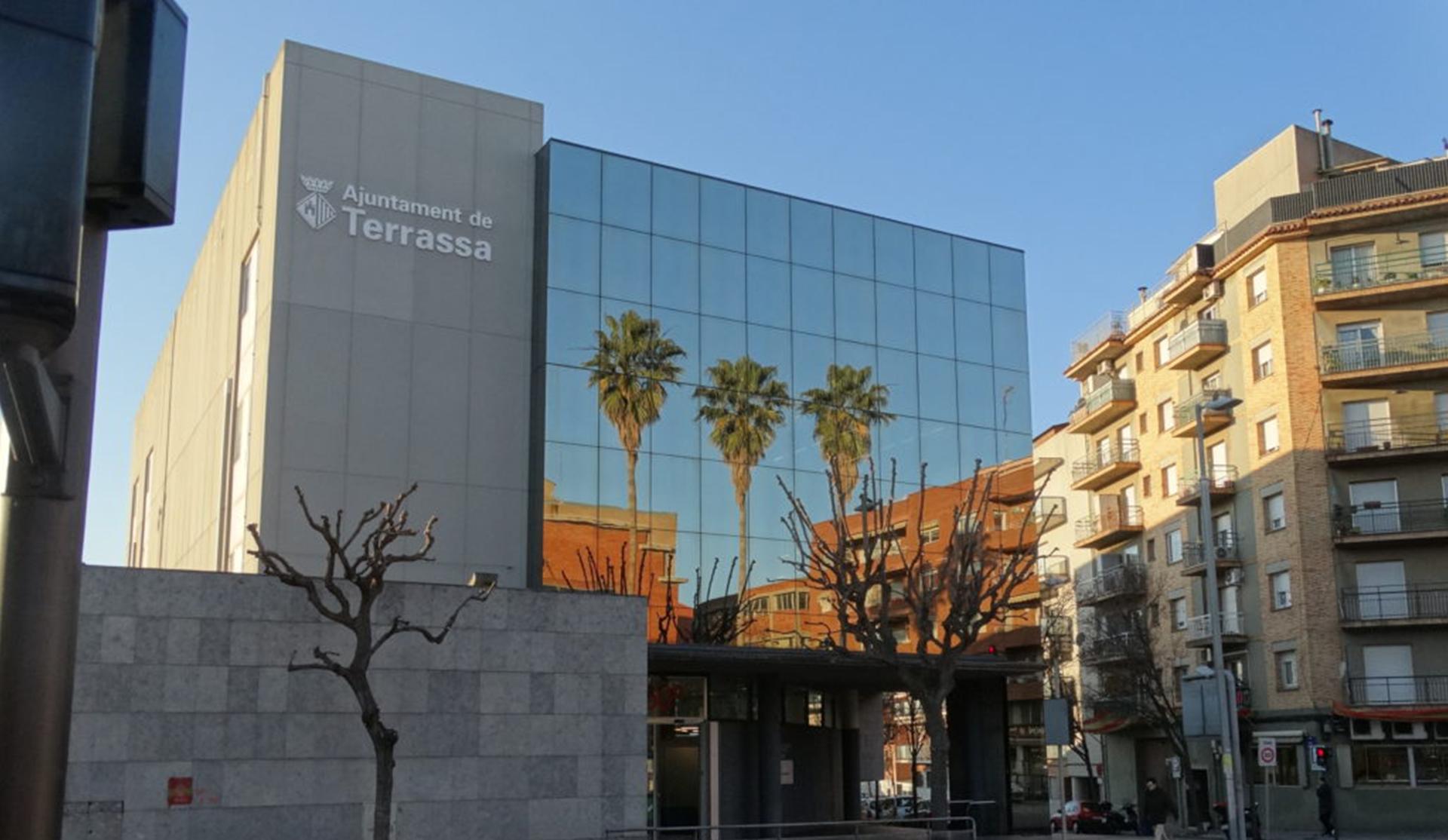 Exterior edificio Foment Ayuntamiento de Terrassa