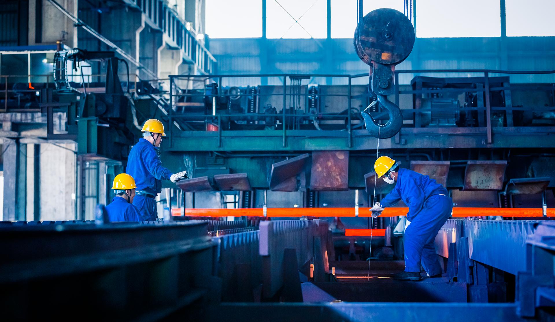 industria metal trabajadores