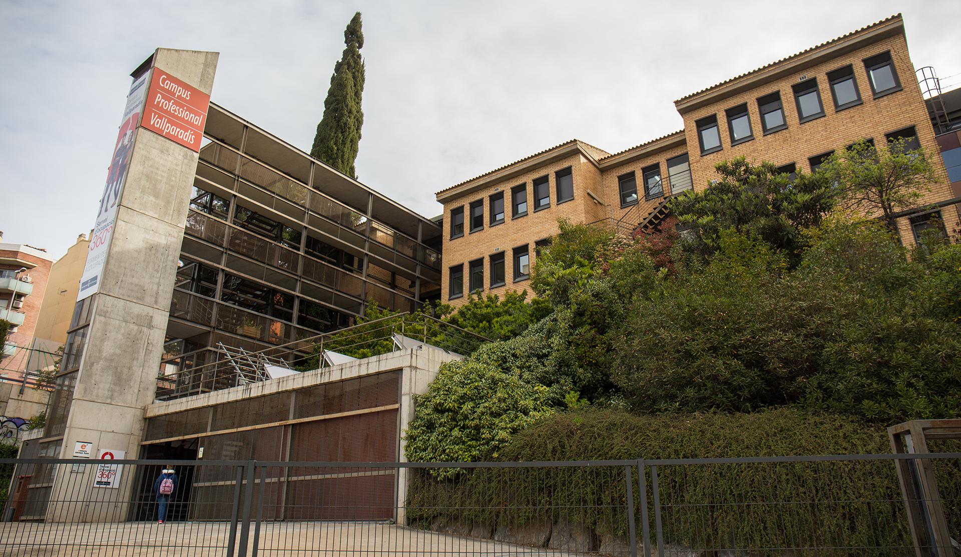 Campus Profesional Vallparadís exterior edificio